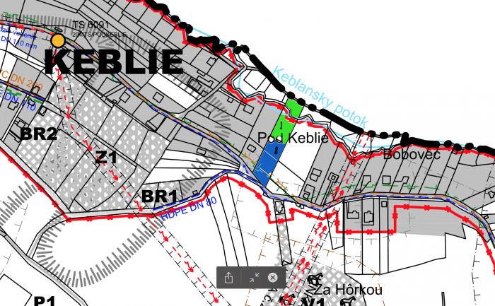 vyrez_z_mapy_uzemny_plan_obce_strezenice