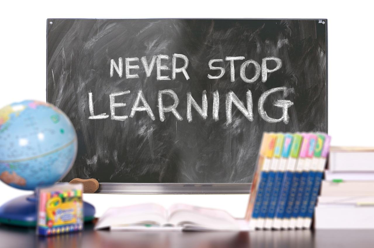 Obr.1 Nikdy sa neprestaň učiť